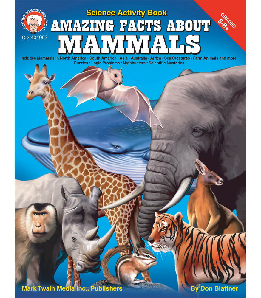 Amazing Facts About Mammals Resource Book Product Image