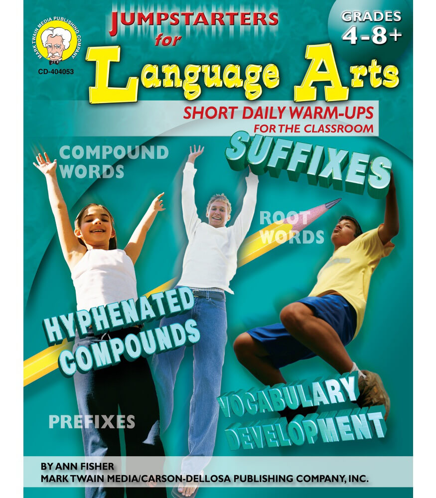 Jumpstarters for Language Arts Resource Book Product Image