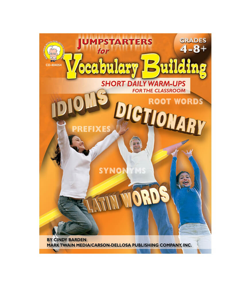 Jumpstarters for Vocabulary Building Resource Book Product Image