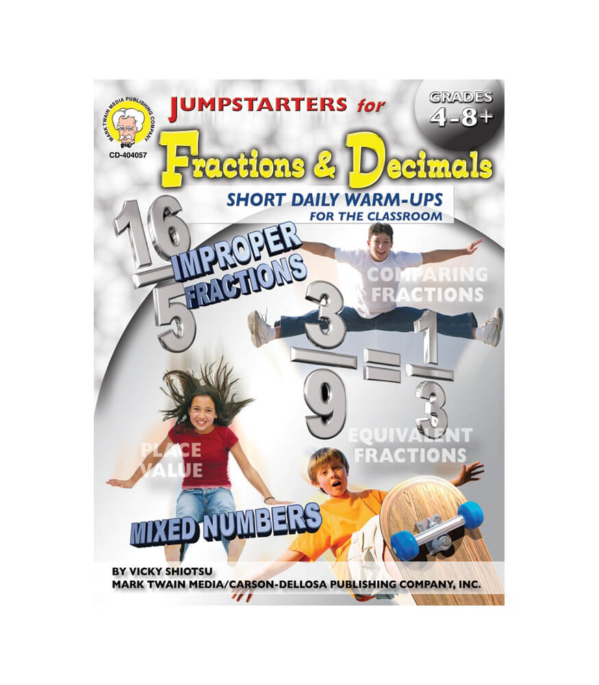 Jumpstarters for Fractions & Decimals Resource Book Product Image