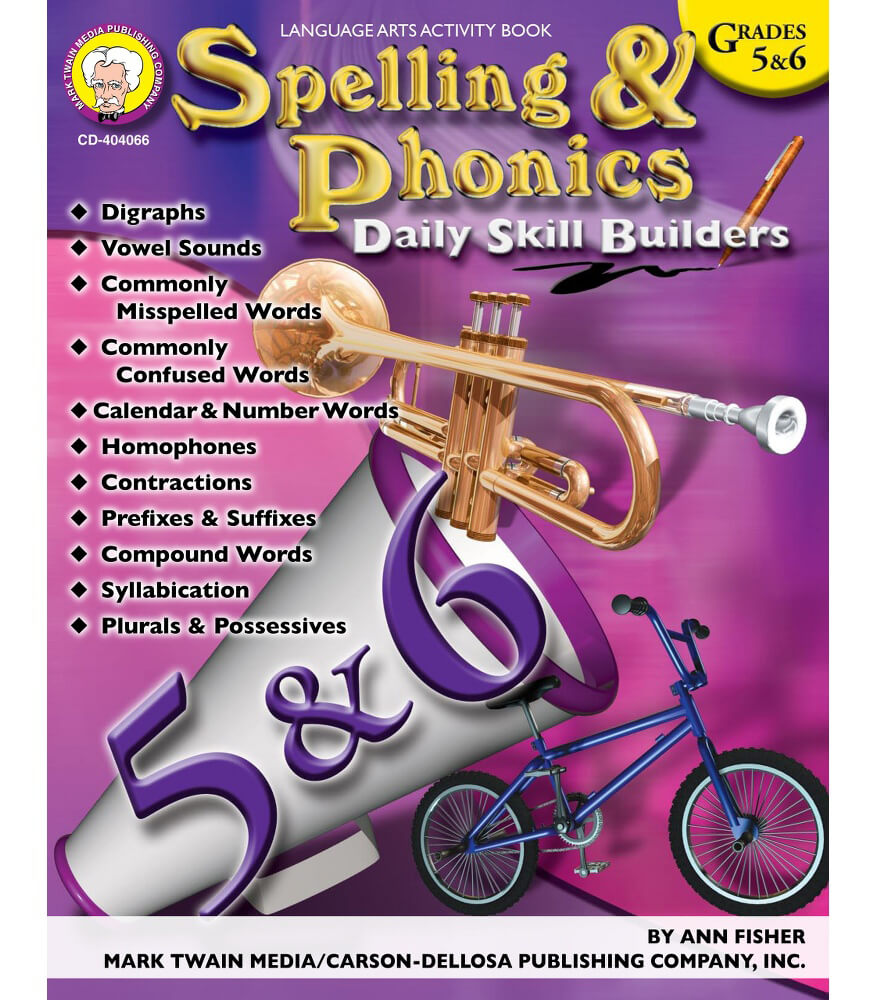 Spelling & Phonics Resource Book Product Image