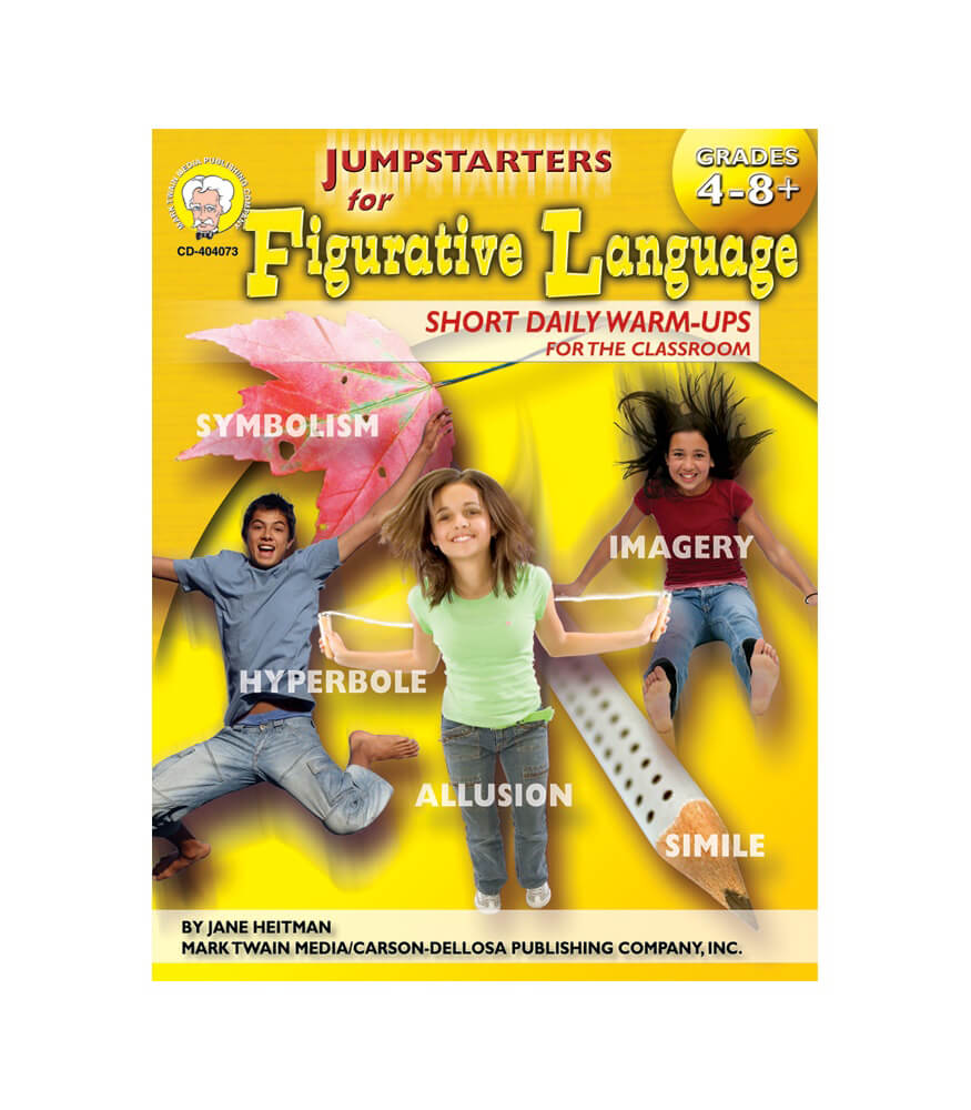 Jumpstarters for Figurative Language Resource Book Product Image