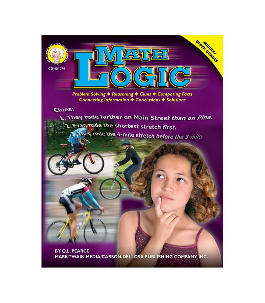 Math Logic Resource Book Product Image
