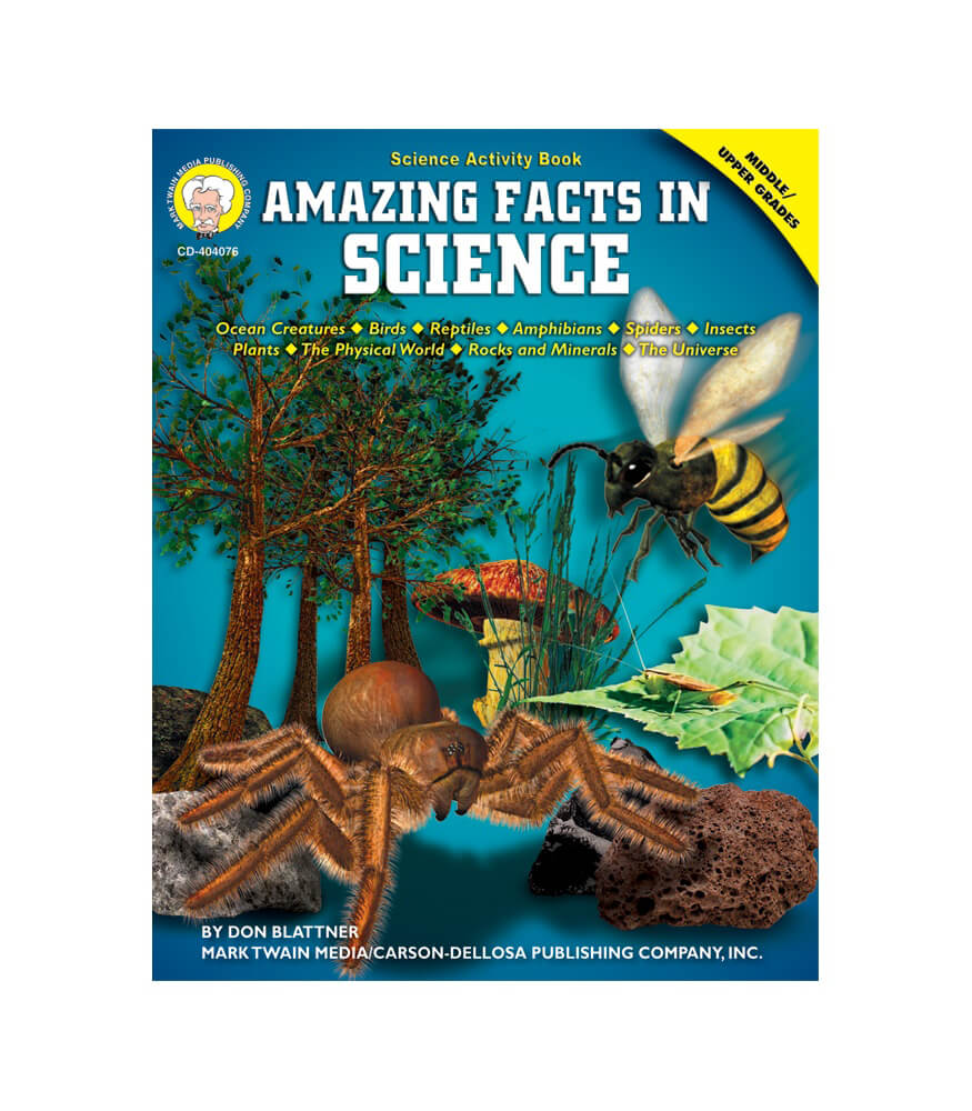 Amazing Facts in Science Resource Book Product Image