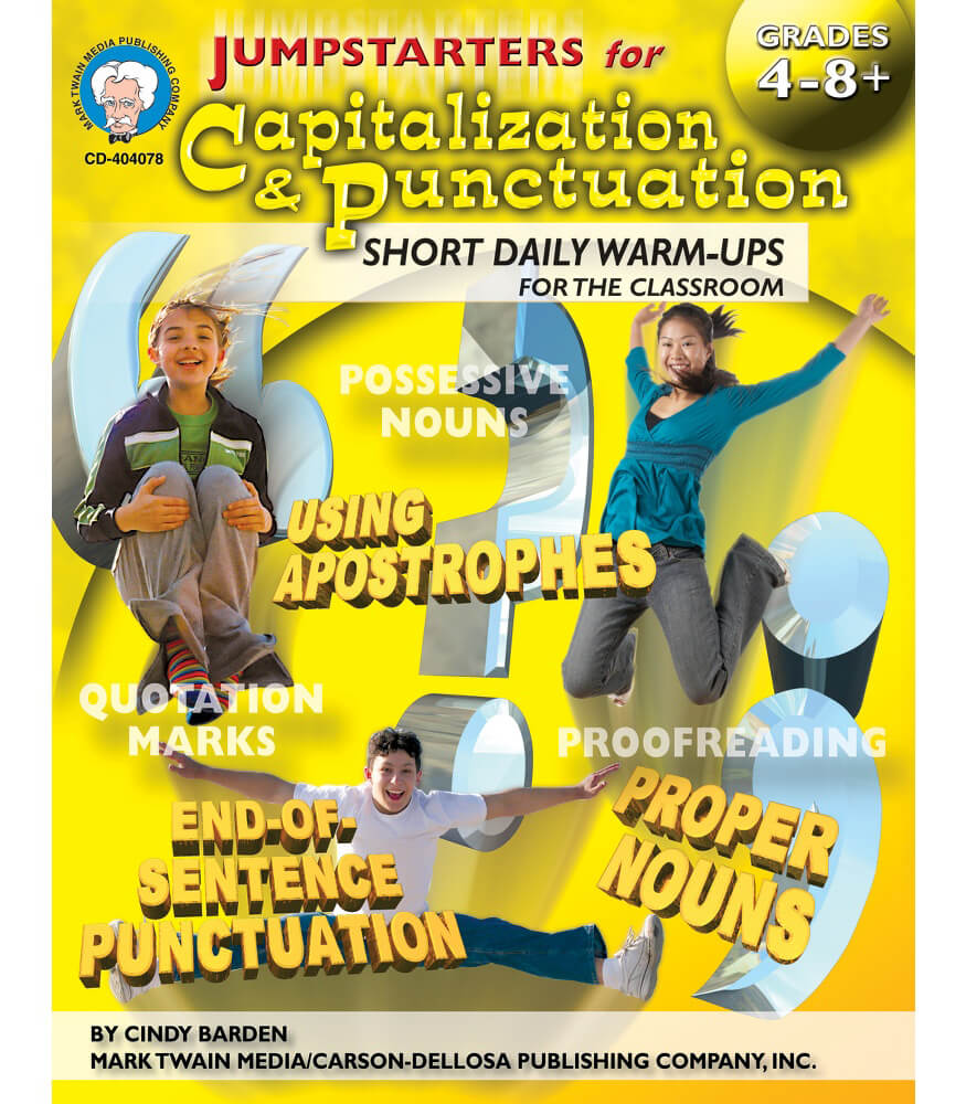 Jumpstarters for Capitalization & Punctuation Resource Book Product Image