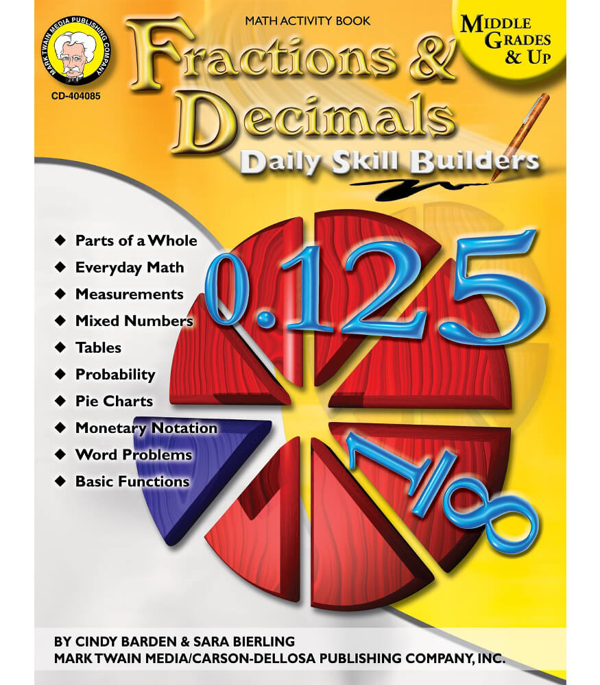 Fractions & Decimals Resource Book Product Image