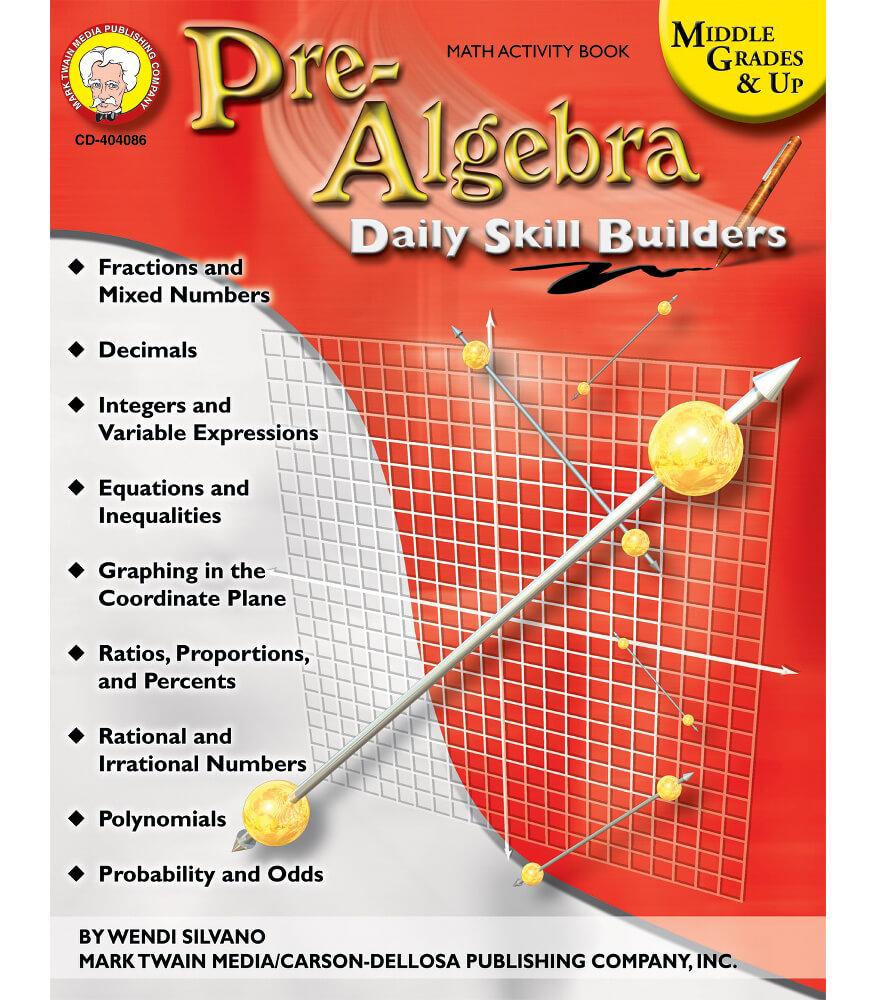 Pre-Algebra Resource Book Product Image
