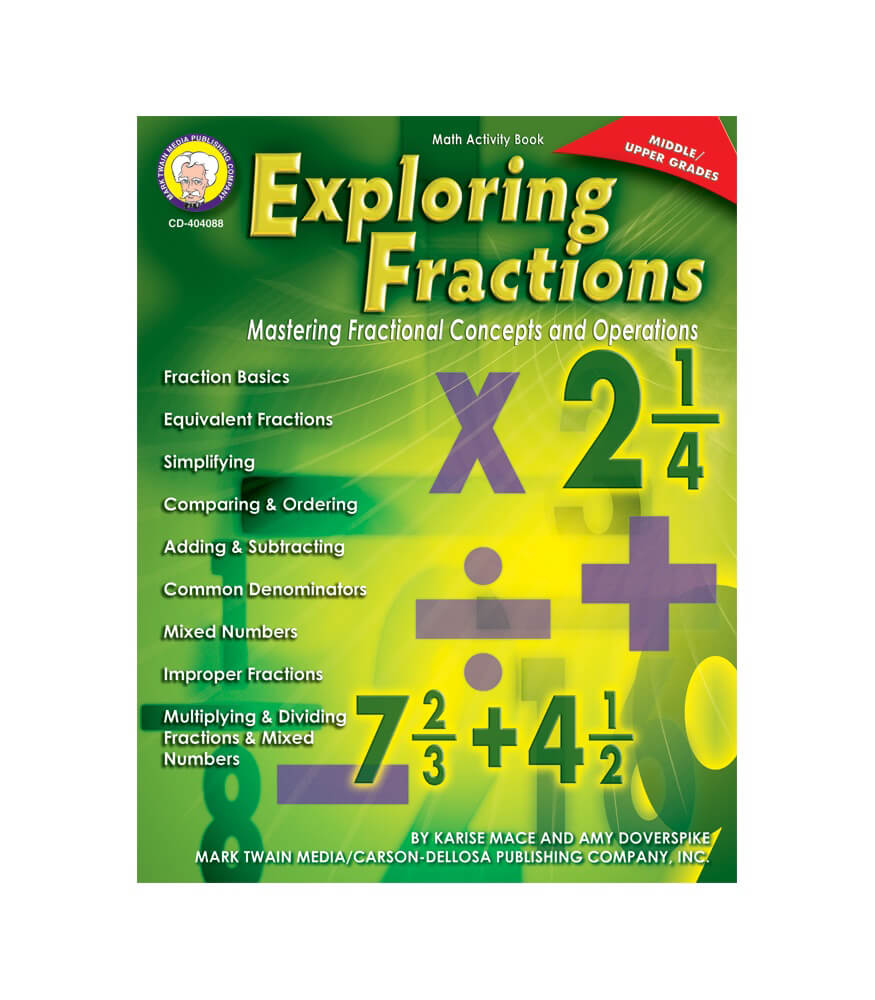 Exploring Fractions Resource Book Product Image