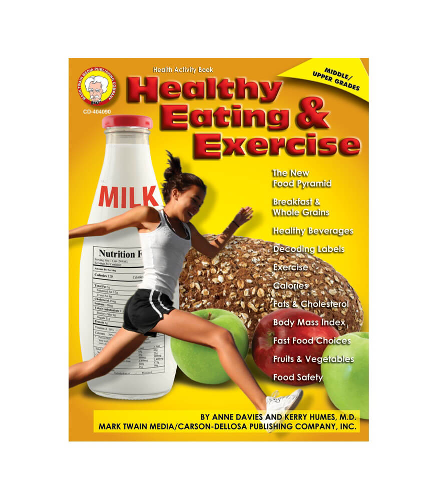 Healthy Eating and Exercise Resource Book Product Image