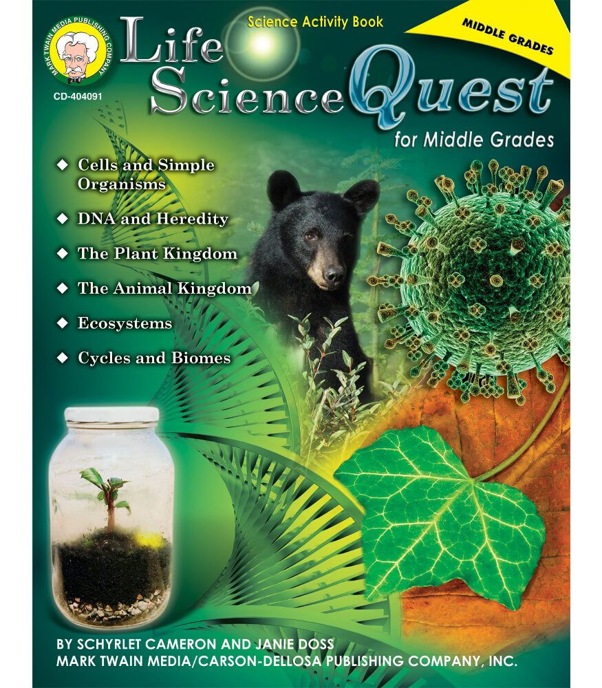Life Science Quest for Middle Grades Resource Book Product Image
