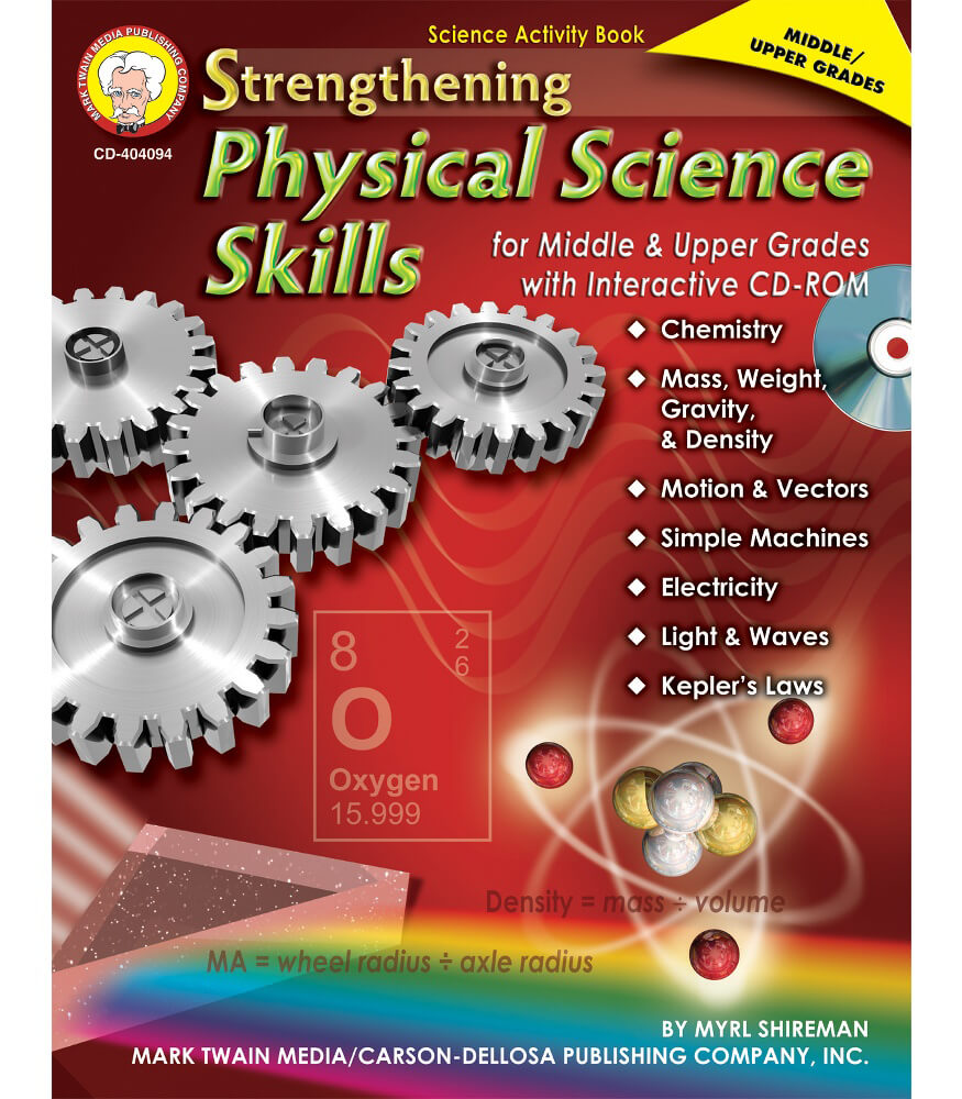 Strengthening Physical Science Skills for Middle & Upper Grades Resource Book Product Image