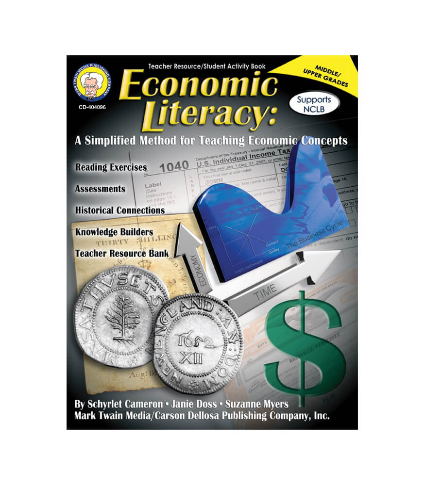 Economic Literacy Resource Book Product Image