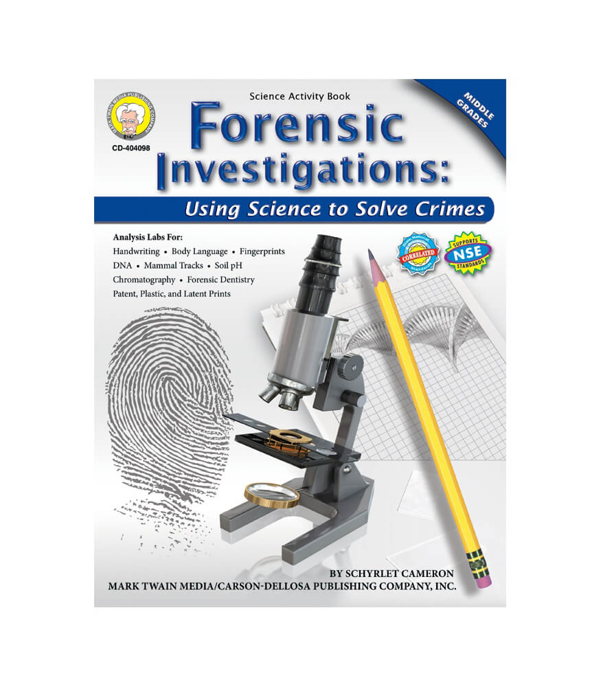 Forensic Investigations Resource Book Product Image