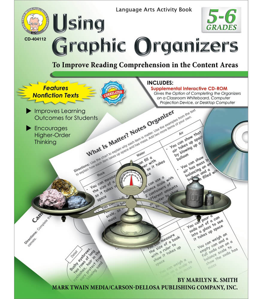Using Graphic Organizers Resource Book Product Image