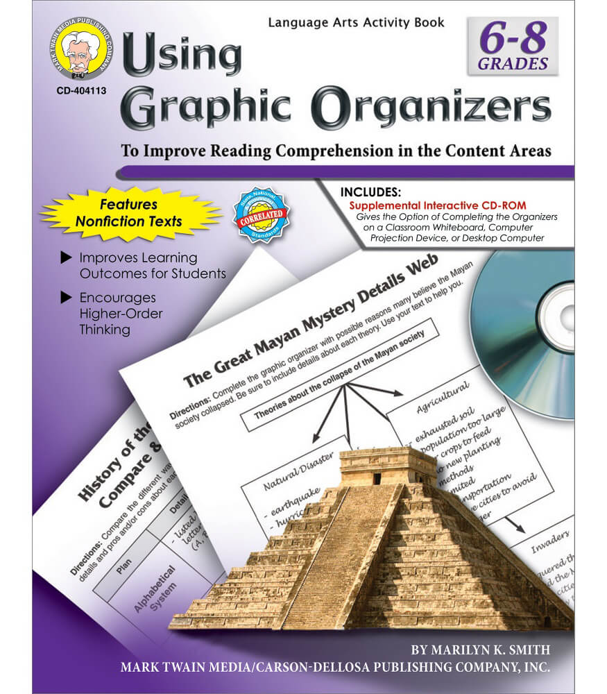 Using Graphic Organizers Resource Book