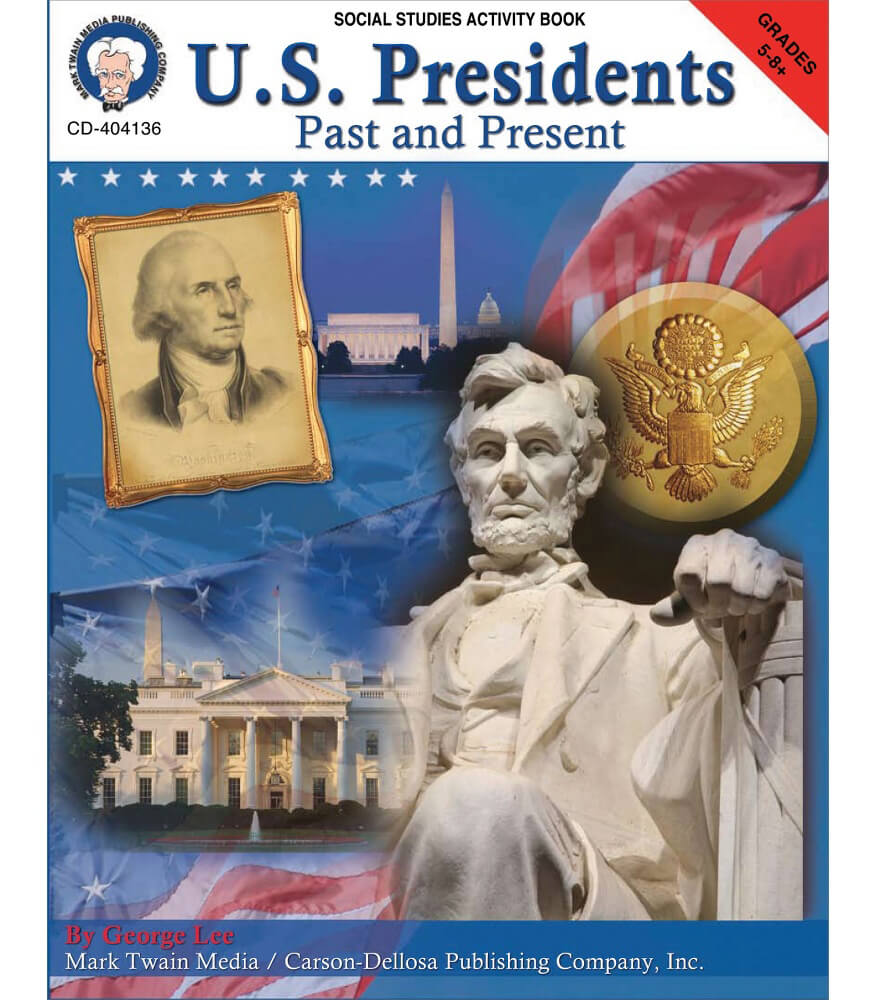 U.S. Presidents: Past & Present Resource Book Product Image