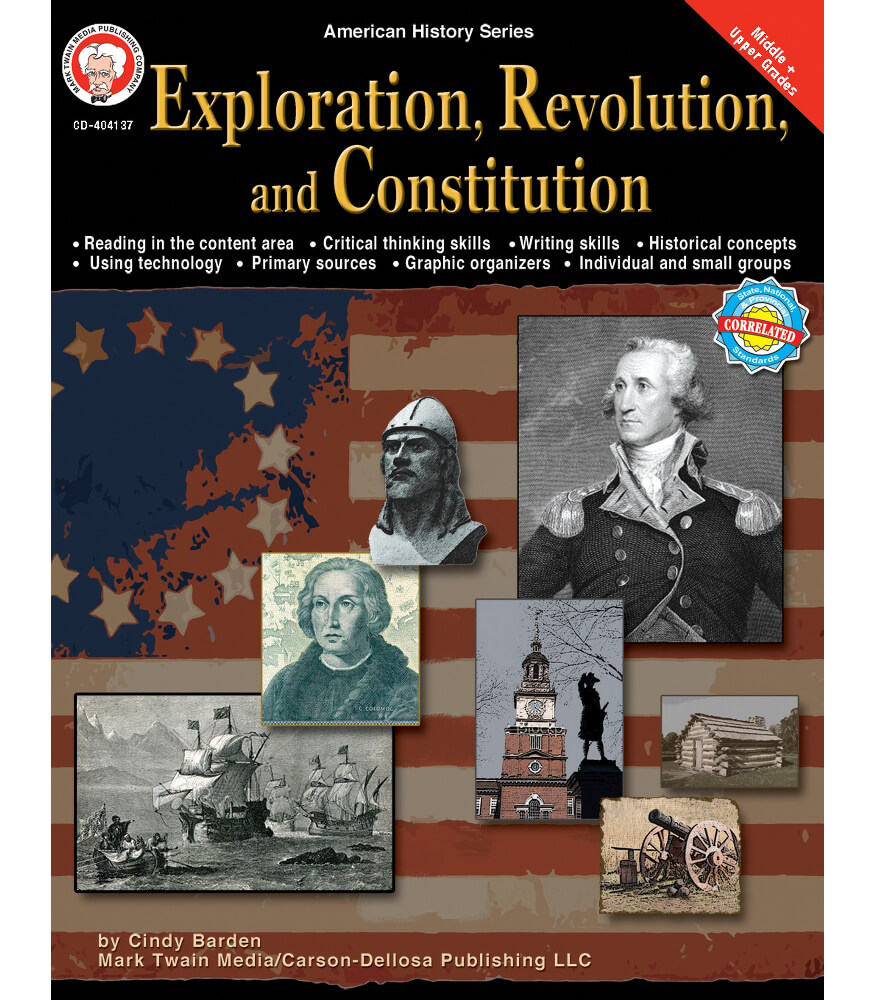 Exploration, Revolution, and Constitution Resource Book Product Image