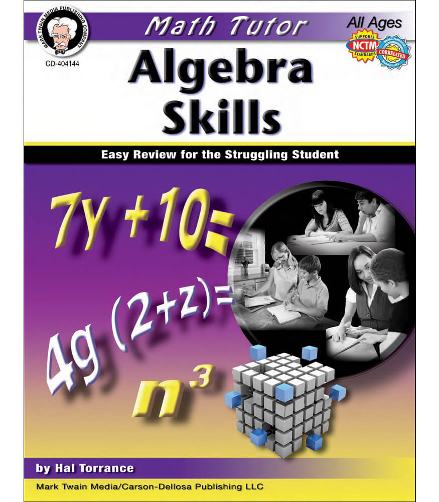 Math Tutor: Algebra Resource Book Product Image