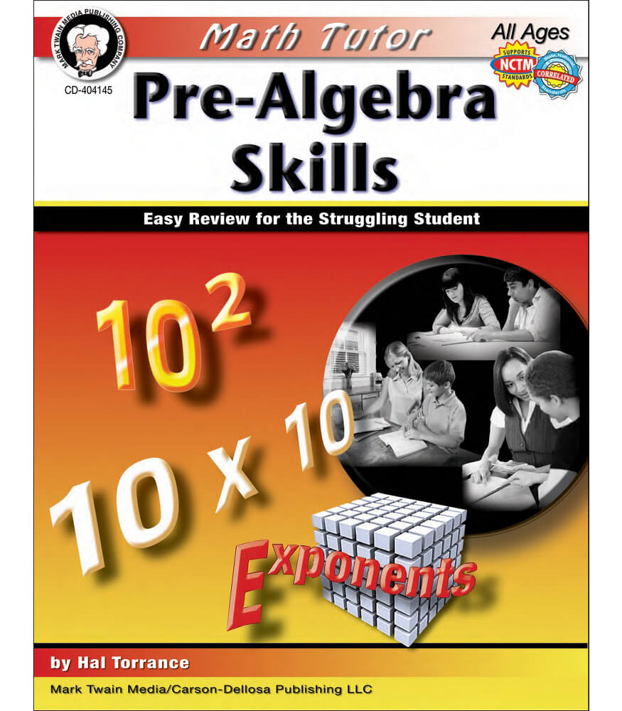 Math Tutor: Pre-Algebra Resource Book Product Image