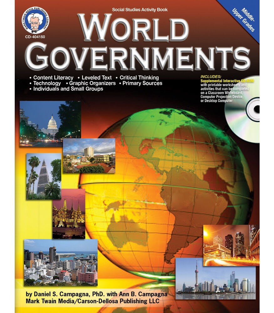 World Governments Book with CD Product Image