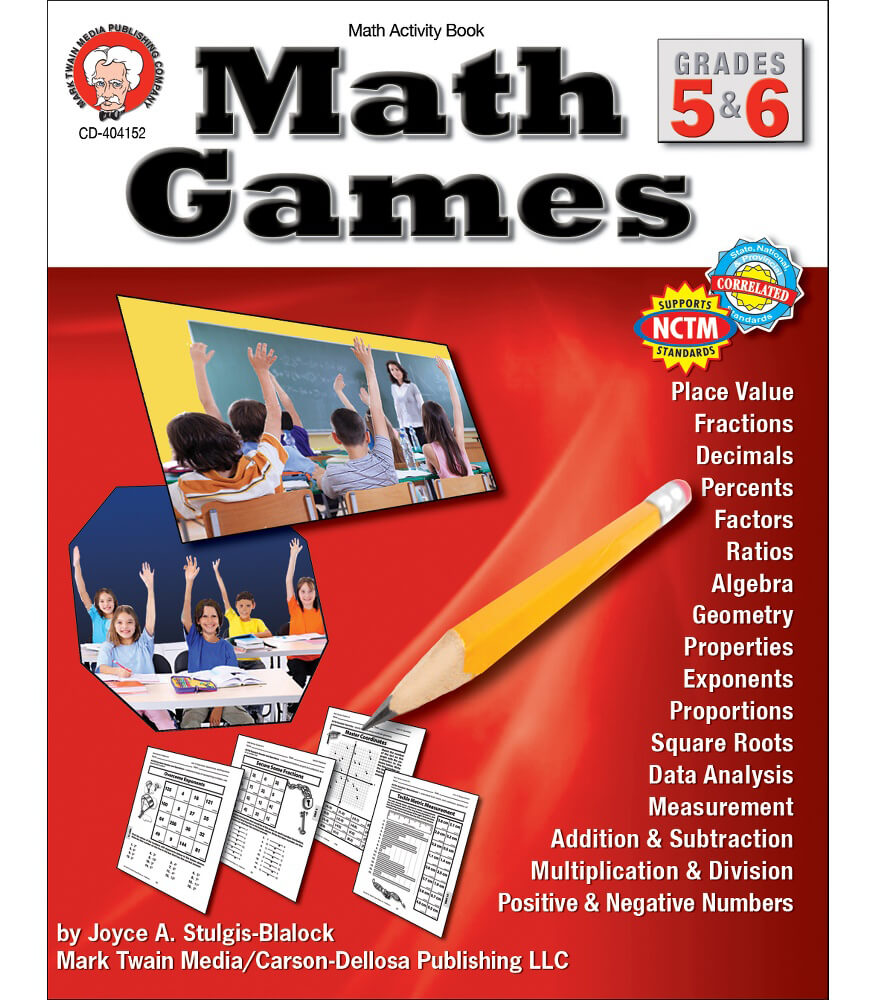 Math Games Resource Book Product Image
