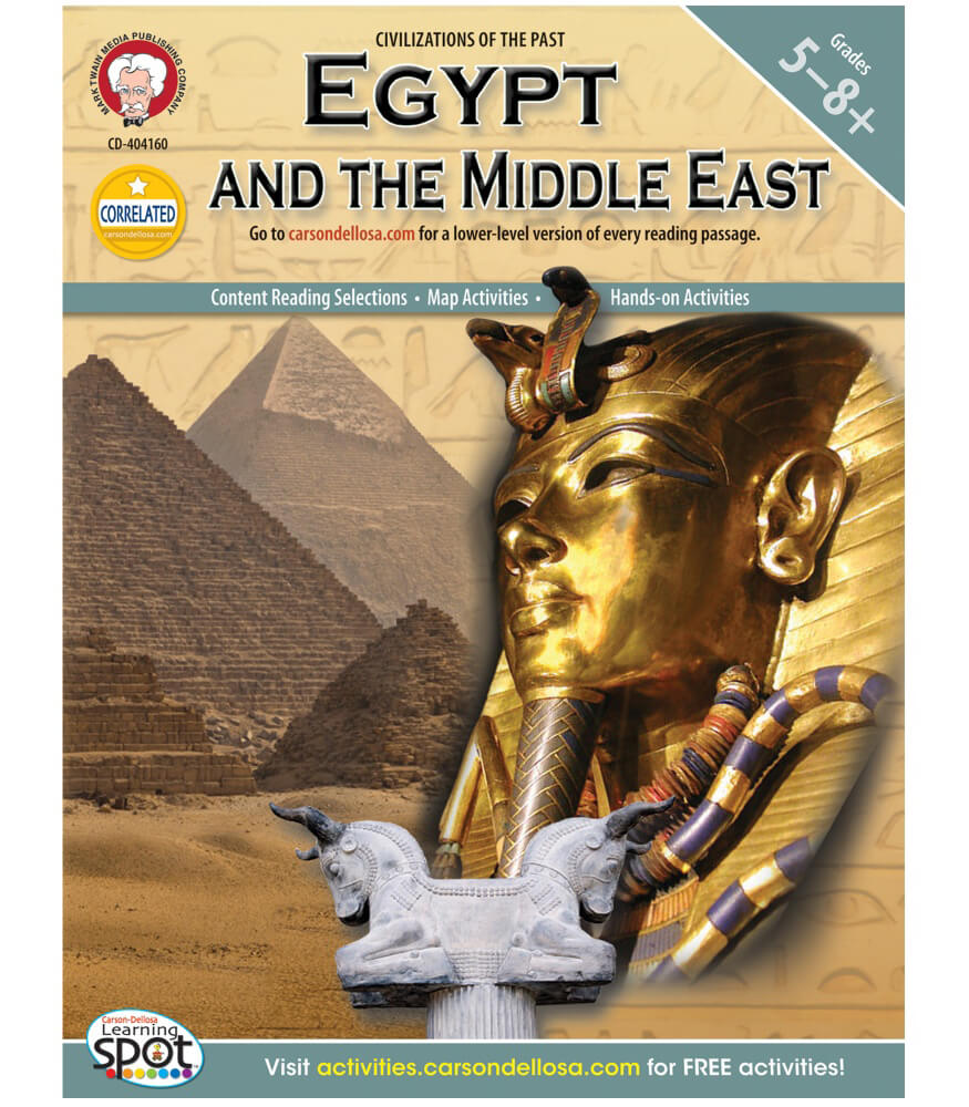 World History Egypt and the Middle East  Resource Book Product Image