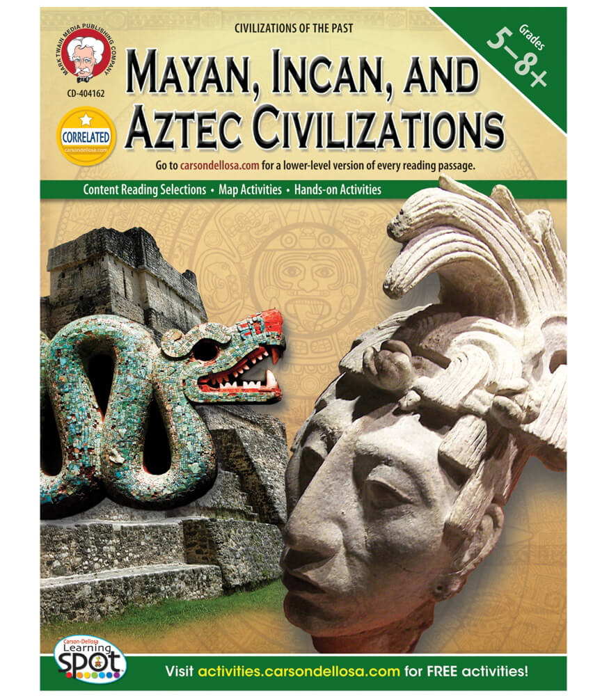 Mayan, Incan, and Aztec Civilizations Resource Book Product Image