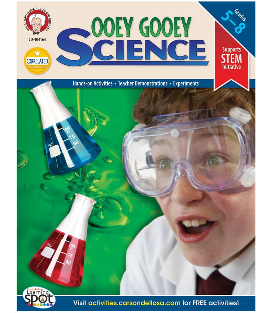 Ooey Gooey Science Resource Book Product Image