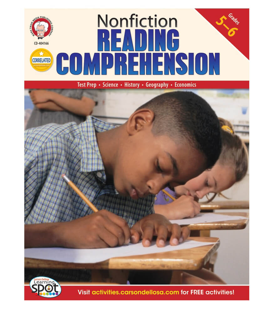 Nonfiction Reading Comprehension Resource Book Product Image