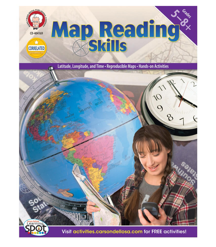 Map Reading Skills Resource Book Product Image