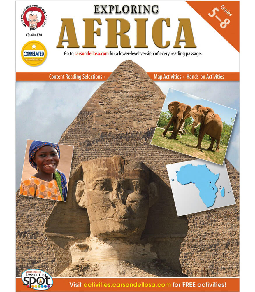 Exploring Africa Resource Book Product Image