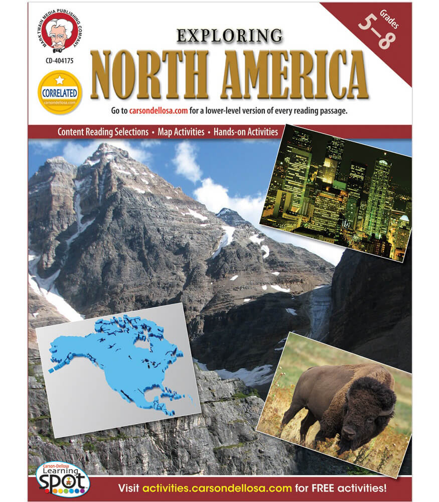 Exploring North America Resource Book Product Image