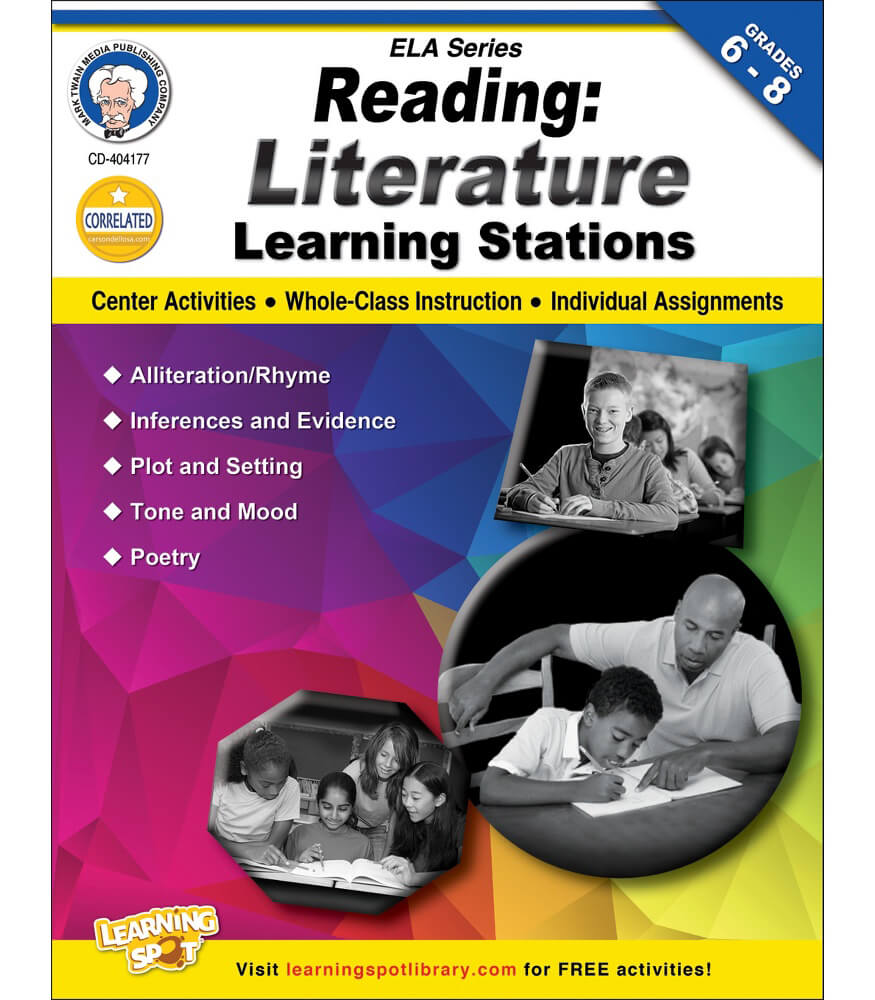Reading: Literature Workbook Product Image