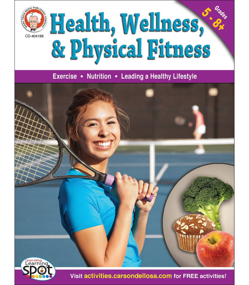 Health, Wellness, and Physical Fitness Workbook Product Image