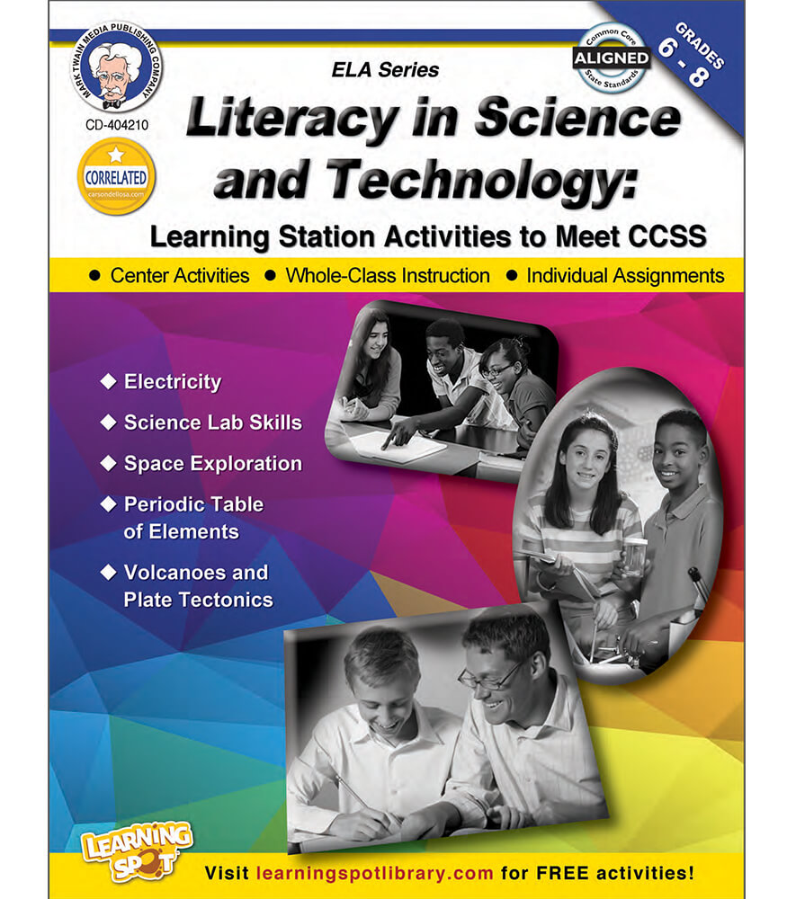 Literacy in Science and Technology Resource Book Product Image