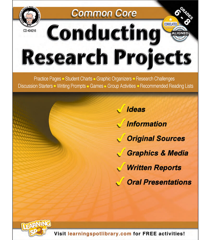 Common Core: Conducting Research Projects Resource Book Product Image