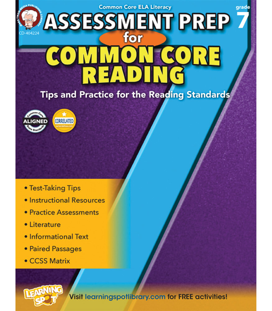 Assessment Prep for Common Core Reading Resource Book Product Image