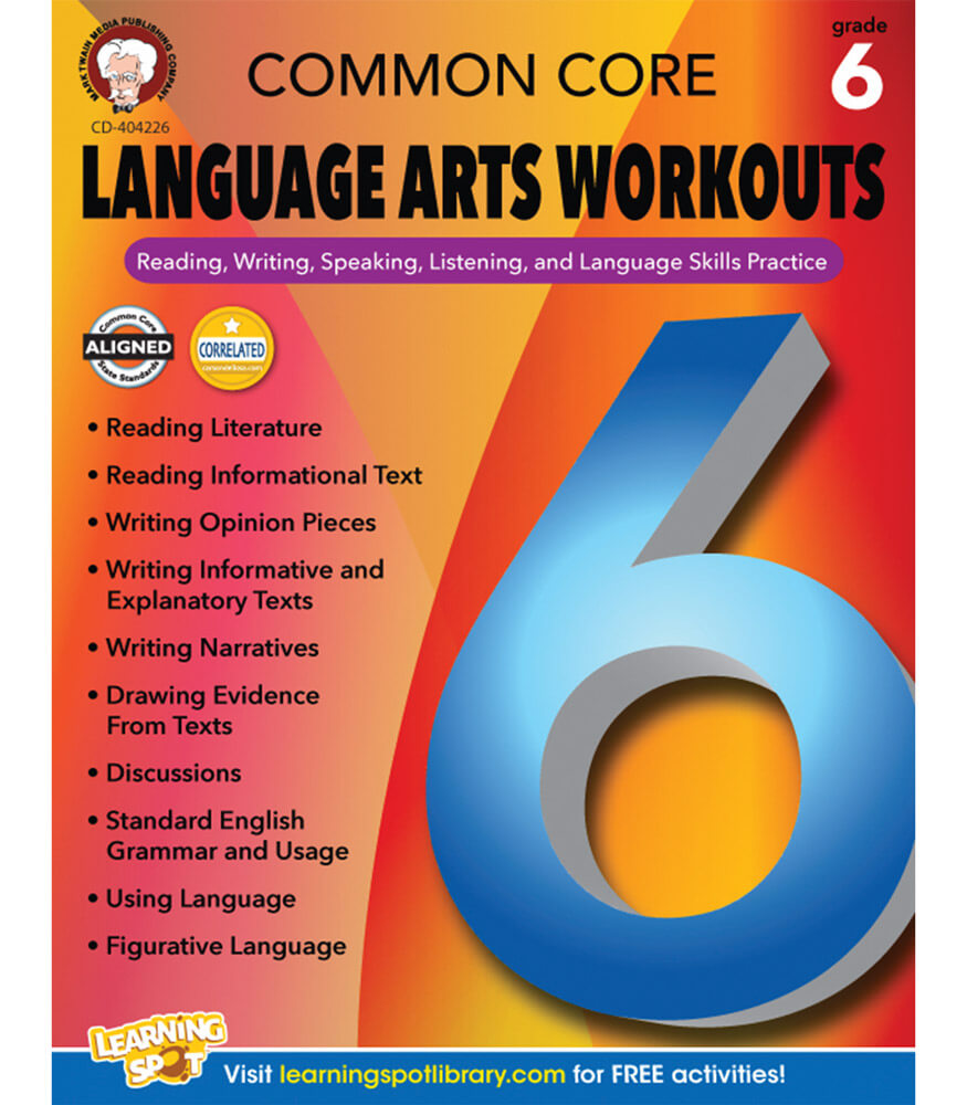 Common Core Language Arts Workouts Resource Book