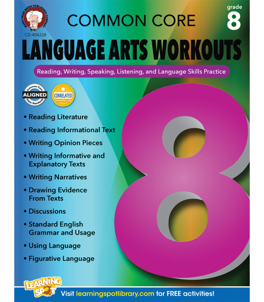Common Core Language Arts Workouts Resource Book Product Image