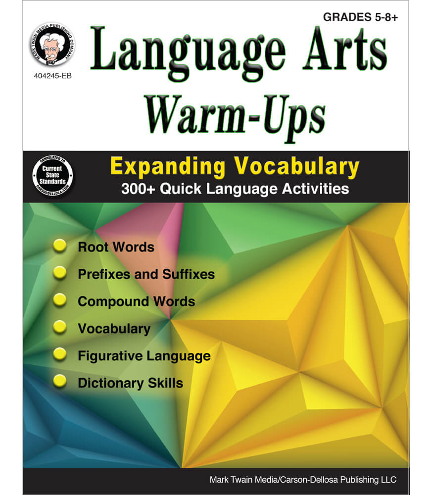 Language Arts Warm-Ups Resource Book Product Image