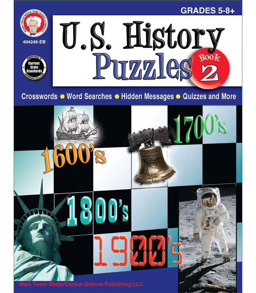 U.S. History Puzzles, Book 2 Resource Book Product Image