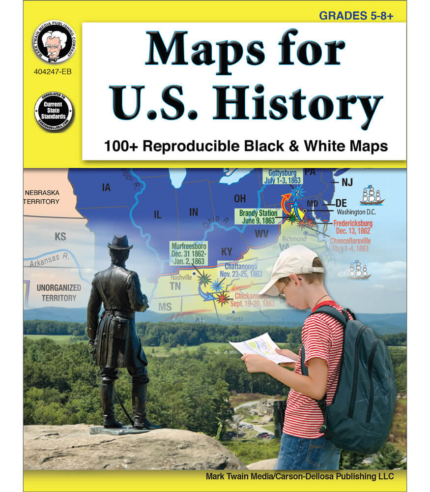 Maps for U.S. History Resource Book Product Image