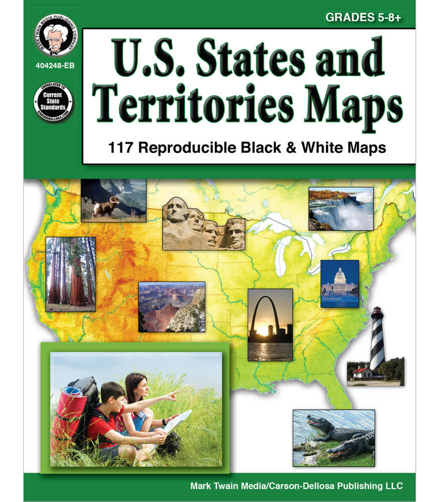 U.S. States and Territories Maps Resource Book Product Image