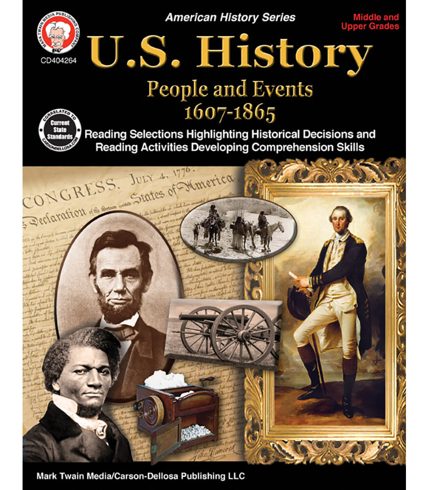 U.S. History: People and Events 1607-1865 Resource Book Product Image