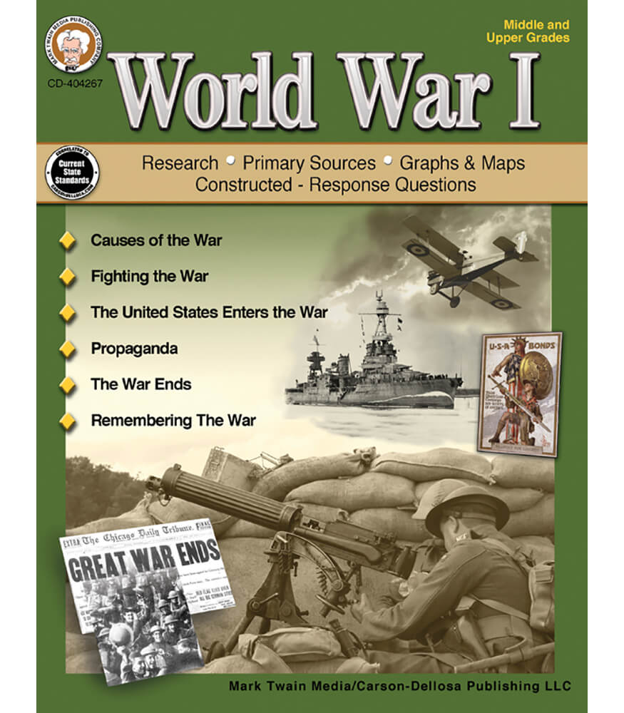 World War I Resource Book Product Image