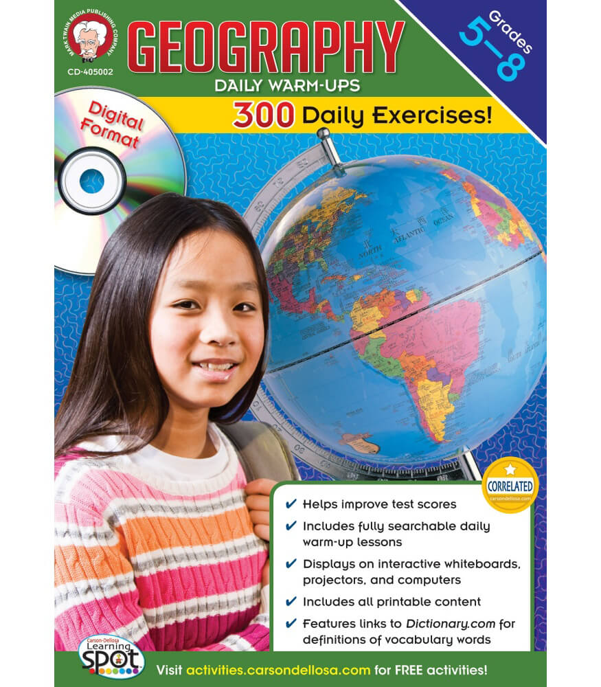 Geography Daily Warm-ups CD-ROM CD-ROM Product Image