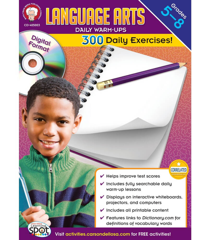 Language Arts Daily Warm-ups CD-ROM CD-ROM Product Image