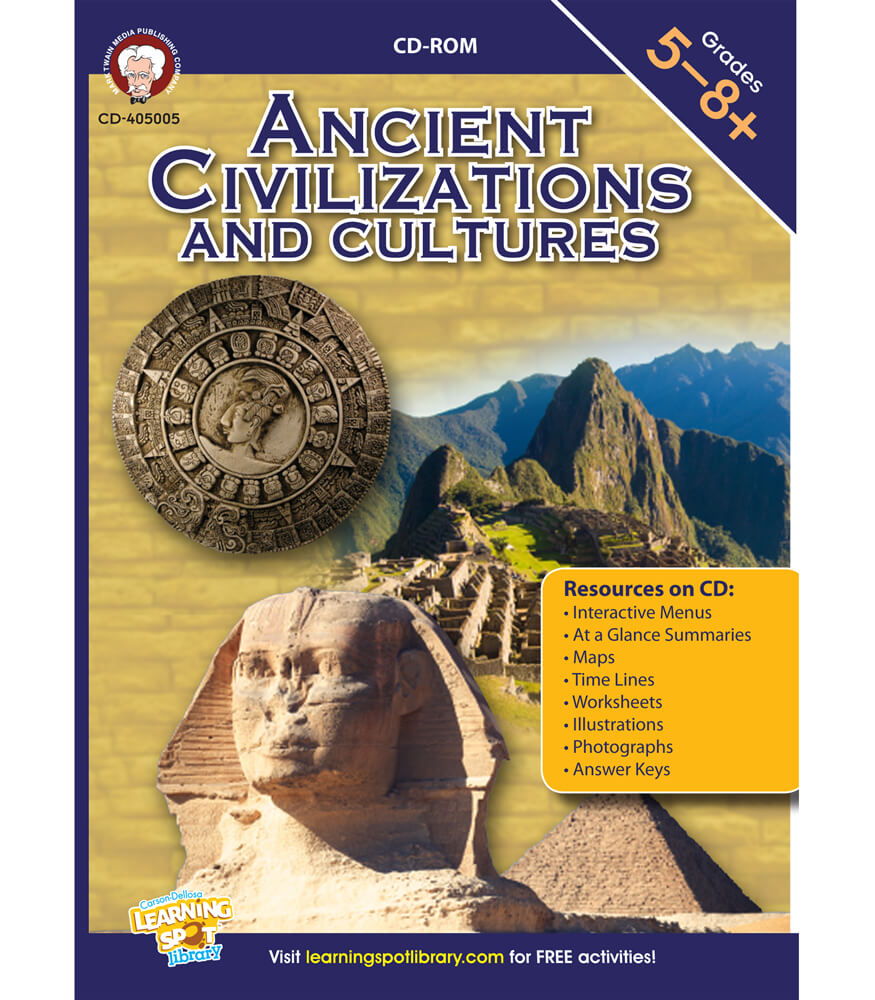 Ancient Civilizations and Cultures CD-ROM Product Image