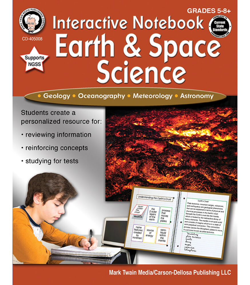 Interactive Notebook: Earth & Space Science Workbook Product Image