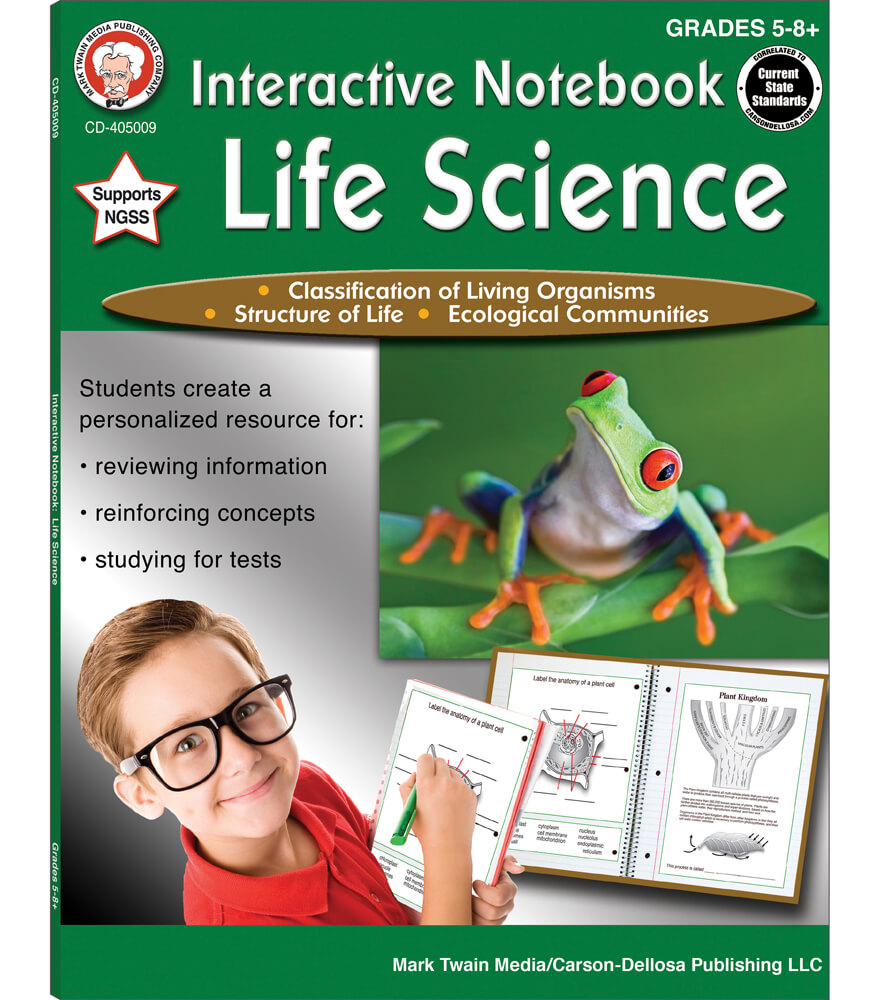Interactive Notebook: Life Science Workbook Product Image
